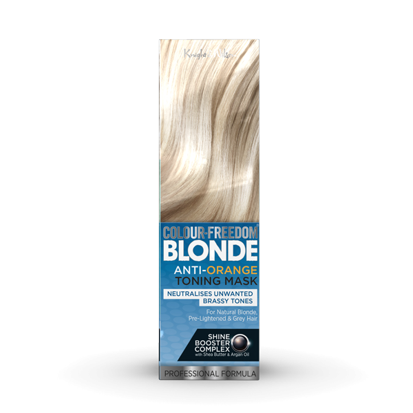 COMING SOONColour-Freedom BLONDE Anti-Orange Toning Mask